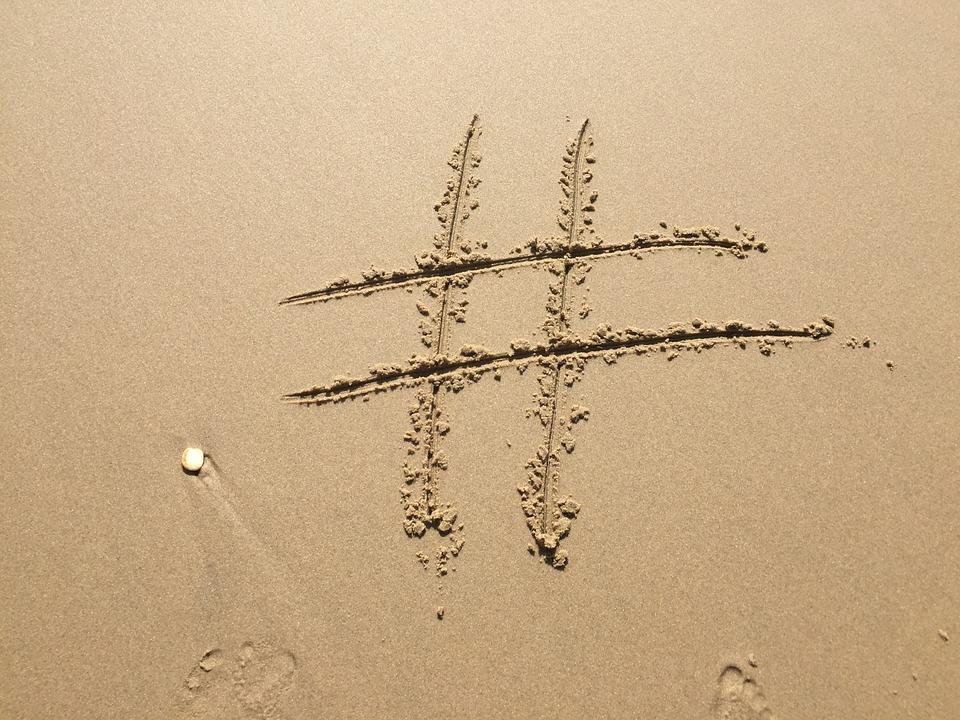 hashtags y su uso en redes sociales